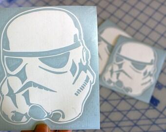 Stormtrooper Decal.. Stormtrooper Sticker.. Star Wars Stormtrooper.. Star Wars Stormtrooper Sticker.. Star Wars Stormtrooper Decal