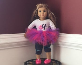 "18"" Doll Tutu Outfit"