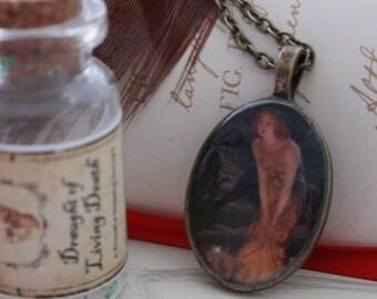 Fairy Art Cameo Necklace