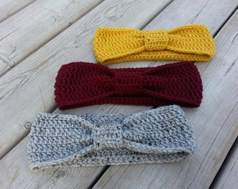 Crochet Headband/Earwarmer - Ladies/Teens - Winter headband - Headwarmer