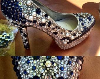 Customized Bridal Shoes