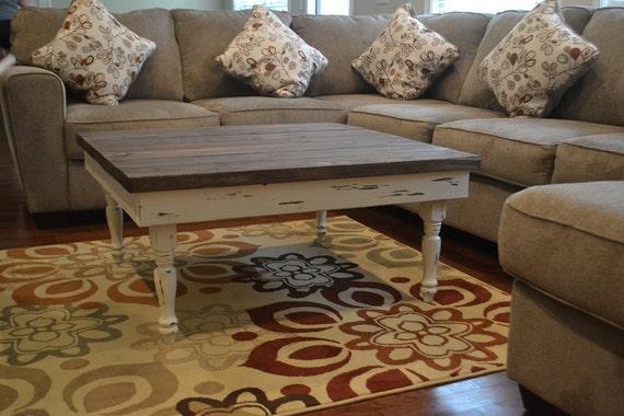 coffee table w skinny turned legs. Black Bedroom Furniture Sets. Home Design Ideas