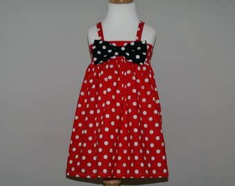 Disney Mickey and Minnie Mouse Inspired Dress