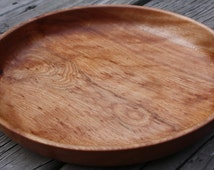 Curly Flame Birch Wooden Plate/Platter