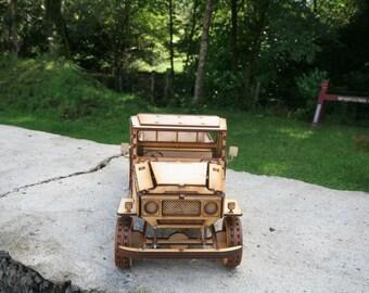 Toyota Land Cruiser Car Model Kit