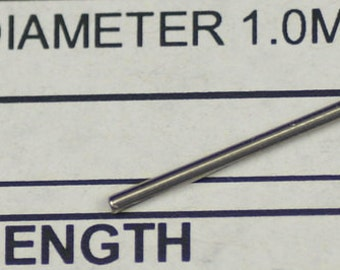 Plain parallel link pins 7mm to 24mmm for watch bracelet strap adjust pin bar
