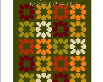 "Autumn Blossoms - 64""x78"""