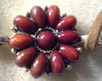 Vintage Red Carnelian Bracelet