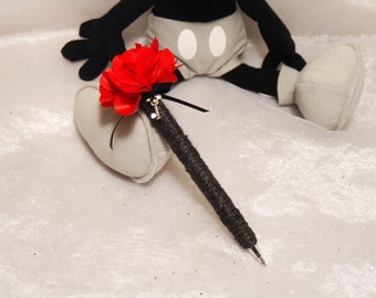 Mickey Mouse Wedding Guest Book Pen, Mickey Mouse Guest Book Sharpie, Mickey & Minnie Mouse Pen, Disney Wedding Pen, Disney Pen and Sharpie