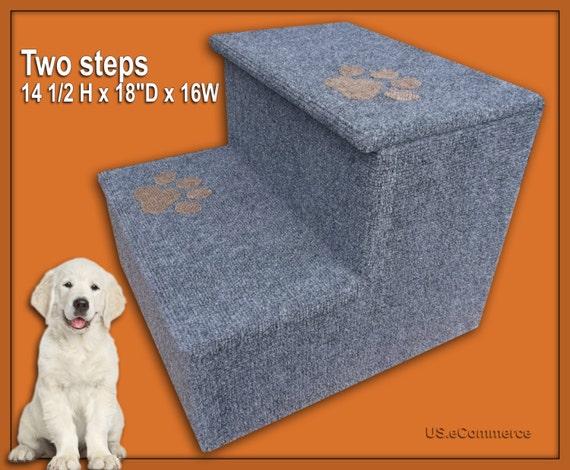 Pet Steps 14 1 2 Tall X 18deep Wood Dog By Petloversfurniture