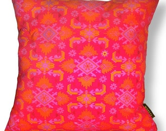 Sofa pillow red velvet cushion cover SCARLET