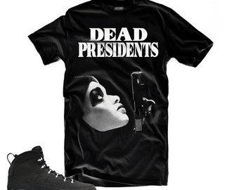 Jordan 9 Anthracite Dead Presidents Shirt