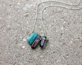 Quartz Shard Necklace