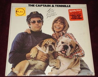 1975 Captain & Tennille - Love Will Keep Us Together - Vinyl LP Record