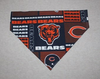 Chicago Bears Dog Bandanna in Small, Medium or Large