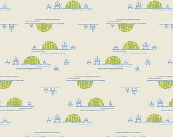 Village Horizon Rise Safari Moon by Art Gallery Fabrics.  Fat quarters, 1/2 yards and by the yard premium quilters cotton
