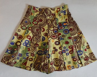 70s/80s Fiorucci Skirt/Shorts // High Waisted // Italien Size 40 // Made In Italy