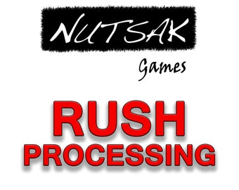 Rush Process your order with two day express mail