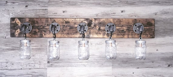 Handmade mason jar light fixtures and accessories by Lulight