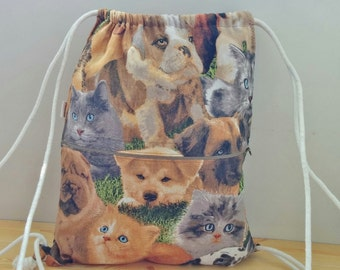 String backpack,draw string bag,dogs bag,dogs backpack,cats bag,cats backpack,canvas backpack,beach backpack,fabric backpack,dogs purse