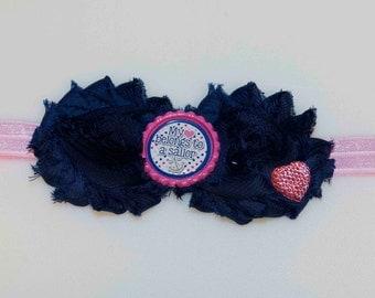 My Heart Belongs to a Sailor Headband
