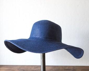 Navy Blue Sun Hat