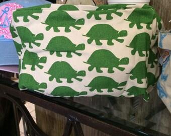 Delta Zeta Turtle Cosmetic Bag