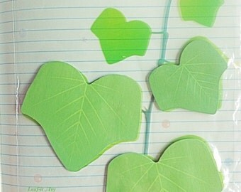 Kawaii leaf post its