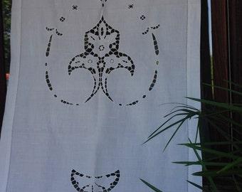 Tenda a vetro lino /Glass linen curtain