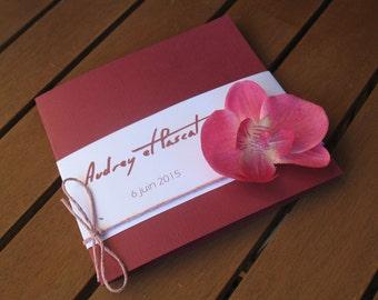 Invitation range: zen marriage or Orchid |