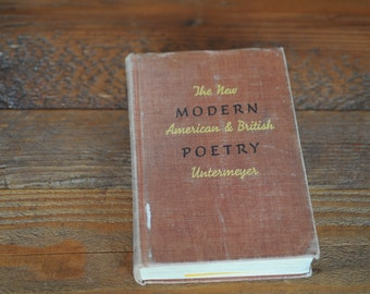 The New Modern American and British Poetry 1939
