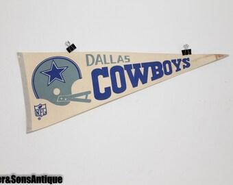 1970's Dallas Cowboys Banner! GREAT CONDITION!!