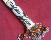 """Beaded """"Native Life"""" keyfob (#264)"""