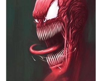 Carnage Spiderman Villain