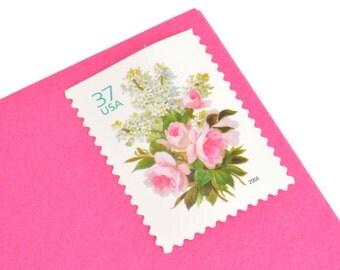 20 Garden Bouquet Stamps - 37c - Unused Postage - Quantity of 20