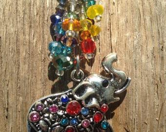 ELEPHANT Car Charm | Rearview Mirror Charm | Elephant Totem | Elephant Gift |