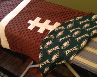 NFL Football Baby Blanket