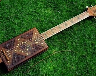 Rosewood Box Guitar