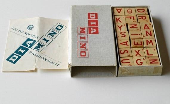 Scrabble dition vintage Nature Dcouvertes