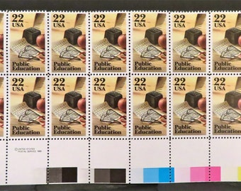 1985 Public Education Vintage US Postage Stamp  #2159