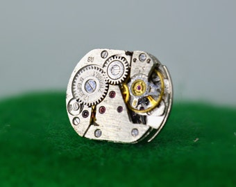 Beautiful steampunk lapel pins/brooches