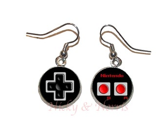 Nintendo Controllers Earrings - Made to Order
