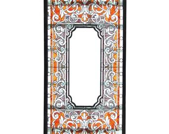 74.5452 Beautiful Stained & Beveled Glass Window
