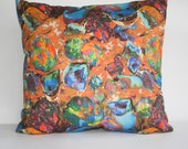 Opal Lands Feature Cushion