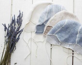 Organic Merino wool baby cap