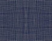 Imprint Fabric, Crossthread Nox, Blue Crosshatch, by Katarina Roccella for Art Gallery Fabrics.  Beautiful!