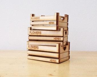 Stacking Crates Kit.