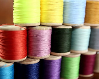 Serafil - Additional Color No.10 or 20 Threads, Additional Color,(12 color available),Produced by Amann, Germany -MLT-P0000BVV