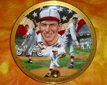 Baseball Royal Doulton Dizzy Dean The Great One Decorative Plate Collectable Ltd Edition Raised MLB Franklin Mint Heirloom Recommendation