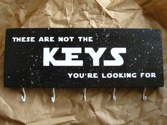 Star Wars key holder